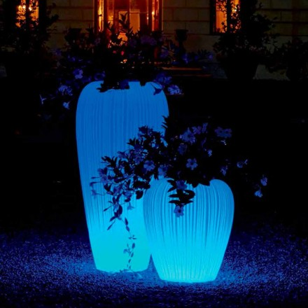 Lysande vas med modern design med RGBW-induktionsbatteri - Skin från Myyour