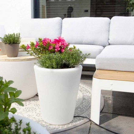 Ljus vas för exteriör och interiör, färgstark design i 3 dimensioner - Vasostar