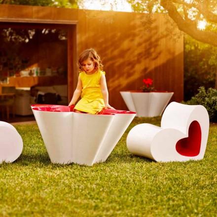 Vondom Agatha utomhusdesigner i färgad polyeten