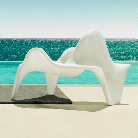 Vondom F3 polyetylen trädgård fåtölj med modern design