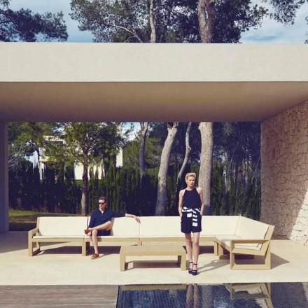 Vondom Frame modern trädgårdslounge i polyetenharts