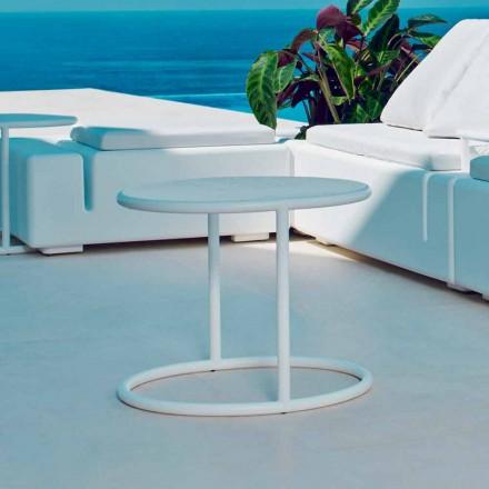 Vondom Kes runda stål trädgård bord, modern design