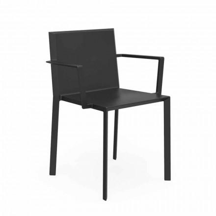 Vondom Quartz stol med design armstöd, L52xD57xH79cm, 4 stycken