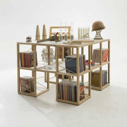 Moderna bokhylla Zia Babel I Castelli 7