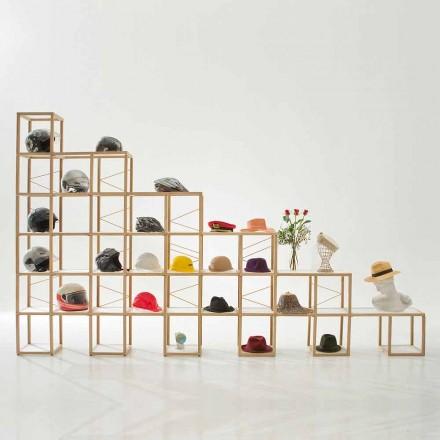 Moderna bokhylla Zia Babel Castles 8