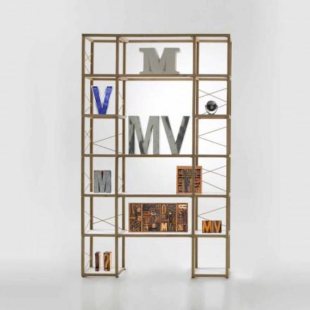 Moderna bokhylla Zia Babel I Castelli 10