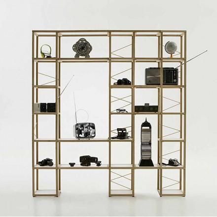 Moderna bokhylla Zia Babel I Castelli 12