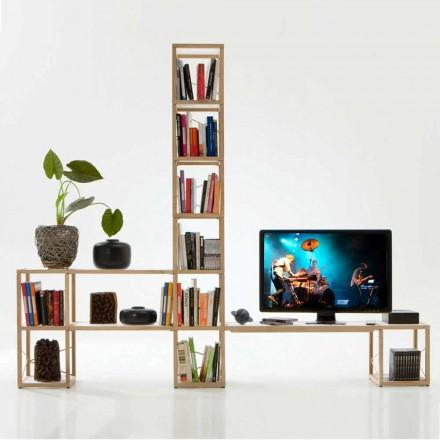 Moderna bokhylla Zia Babel Castles 3
