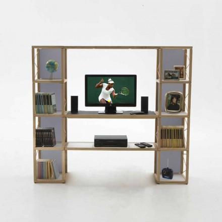 Moderna bokhylla Zia Babel I Castelli 5