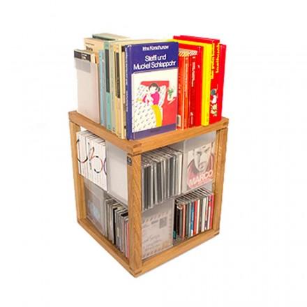 Moderna bokhylla Zia Den babel Trottole CD-hållare